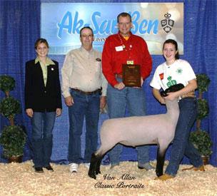 overall grand champion lamb